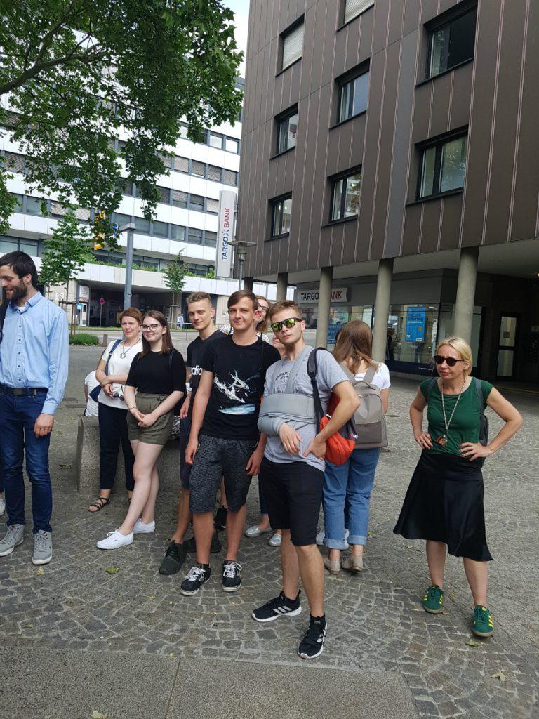 Wymiana z Hilda Gymnasium w Pforzheim 2019